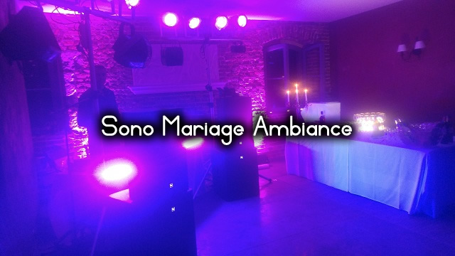 location sono mariage ambiance